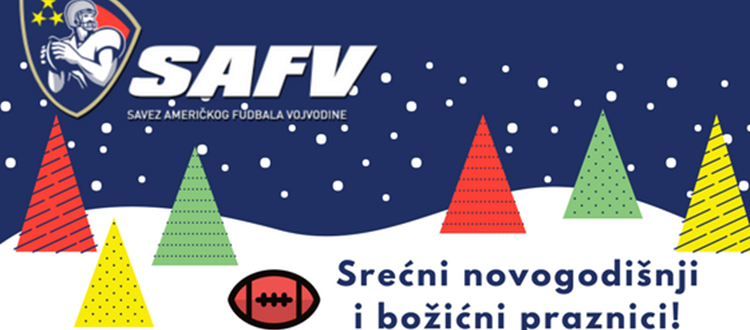 Srećni novogodišnji i božićni praznici! - Savez amerčkog fudbala Vojvodine